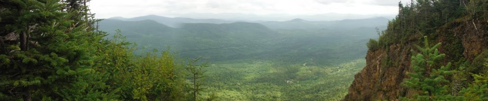 From Magalloway Mountain in Pittsburg NH