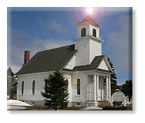 Farnham Methodist Church in Pittsburg NH